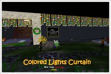 Zinner Gallery - Colored Lights Curtain