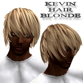 "EdelStore man flexi hair ""  Kevin "" blond boy hair male hair man hair neko hair blonde short biker knight gothic male"