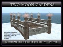 MERIDIAN MESH BRIDGE STRAIGHT - WINTER
