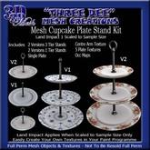TD Mesh Cupcake Plate Stand Kit