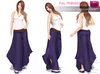 Full Perm Rigged Mesh Womens Lagenlook Pants