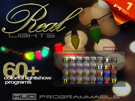 The Retro Bulbs - PROGRAMMABLE lights