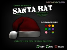 Santa Hat - 2020 - Multi-Fuctions & Menu Driven
