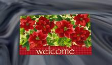 Poinsettia Welcome Mat (2)