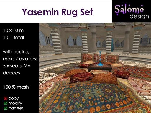 Yasemin Rug Set Sales Box
