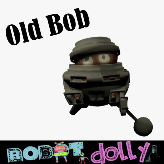 Robot Dolly - Old Bob robot avatar