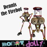 Robot Dolly - Dennis The Firebot MP vendor