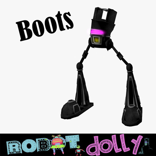 Robot Dolly - Robot Boots Avatar