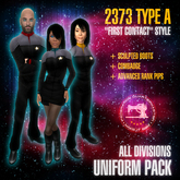 "Starfleet ""First Contact"" (2373) ALL DIVISIONS uniform pack + boots [MiS]"