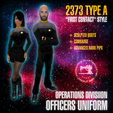 "Starfleet ""First Contact"" (2373) OPERATIONS uniform + boots [MiS]"