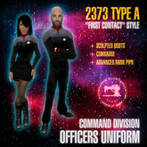 "Starfleet ""First Contact"" (2373) COMMAND uniform + boots [MiS]"