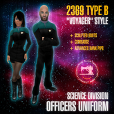 "Starfleet ""Voyager"" (2369) SCIENCES uniform + boots [MiS]"