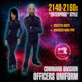 "Starfleet ""Enterprise"" (2140) COMMAND uniform + boots [MiS]"