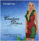GIFT *Soulglitter* Couture Dress X-Mas