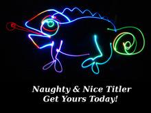 Naughty & Nice Titler