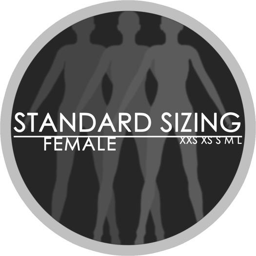 Standard Sizing Package (Male + Female)