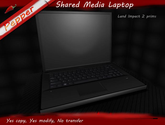 ~Pepper~Shared Media Laptop