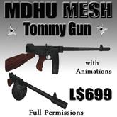 MDHU Tommy Gun - Mesh full perm