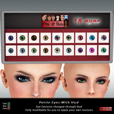 Eyes for Petite/Micro Avatars With Hud Updated