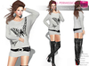 %50WINTERSALE Full Perm Rigged Mesh Batwing Tunic with Belt