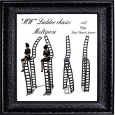 *MW* Ladder Chairs