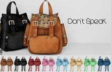 [DDL] Don't  Speak (brown)