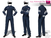 Full Perm Rigged Mesh Men's Racer Outfit