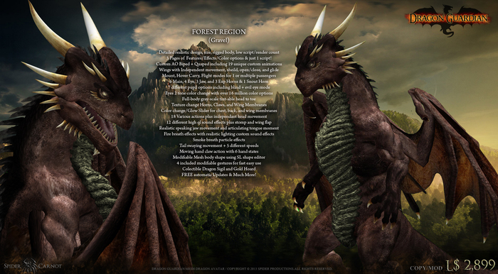 [SP] Dragon Guardian (Gravel) [Forest]