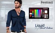 Instinct -  Style shirt Colors - Liquid Size.
