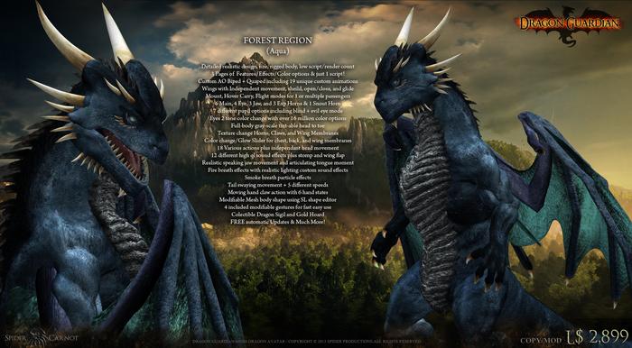 [SP] Dragon Guardian (Aqua) [Forest]