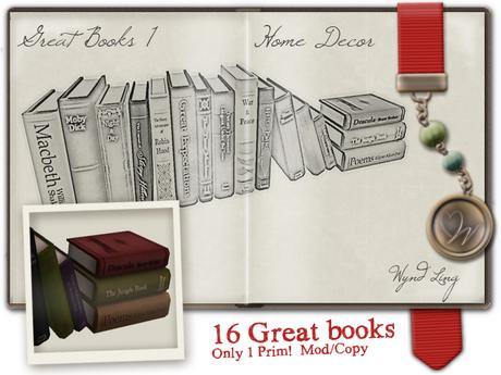 -W-[ Great Books ] 100% Mesh Arrangement1 Steampunk (mod/copy)