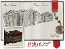 -W-[ Great Books ] 100% Mesh Arrangement1 Steampunk (mod/copy)