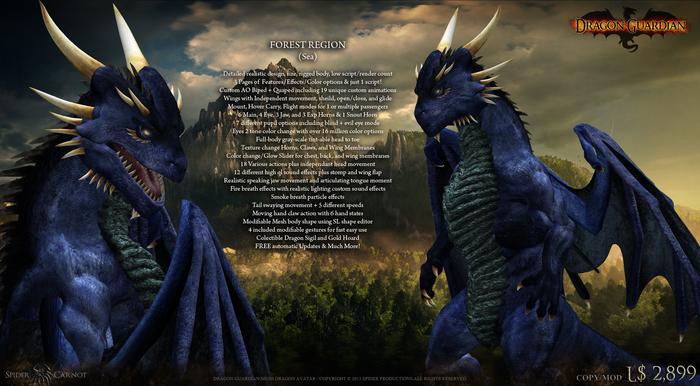 [SP] Dragon Guardian (Sea) [Forest]