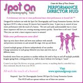 Spot On Performance Director HUD 1.02 (Boxed)