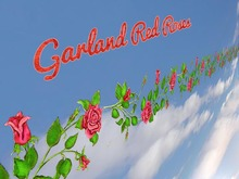 Garland Red Roses