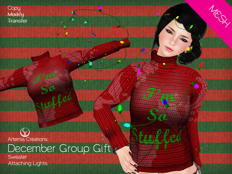 [A] December female Group Gift