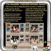 Wunderlich's Duchess series costumes Affiliate Box