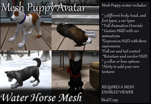 ~*WH*~ Mesh Puppy Avatar 12-5-13