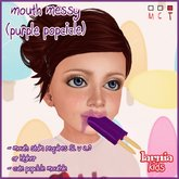 ~* Larnia Kids *~ mouth messy (purple popsicle)