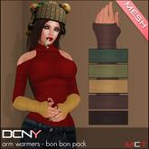 DCNY Mesh Arm Warmers, Bon Bon Pack