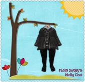 FLRN BABY'S - Molly Coat Gray [BOXED]