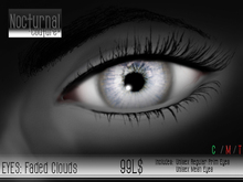 Nocturnal : Eyes_Faded Clouds