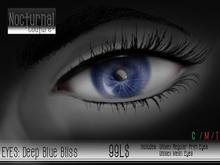 Nocturnal : Eyes_Deep Blue Bliss