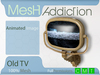 [MA] Mesh Old TV (boxed)