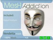 [MA] Vendetta mask (boxed)