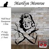 :: moonshine :: Marylin Monroe Decal