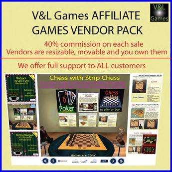 V&L Affilate Games Pack (CasperVend)