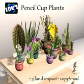 SALE 70% OFF Lok's Pencil Cup Plant Grouping