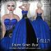 Falln Falina Gown Blue