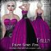 Falln Falina Gown Pink